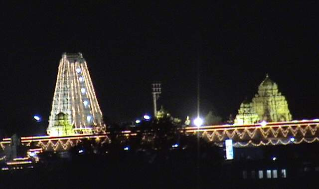 prati balaji temple ketkawale night view