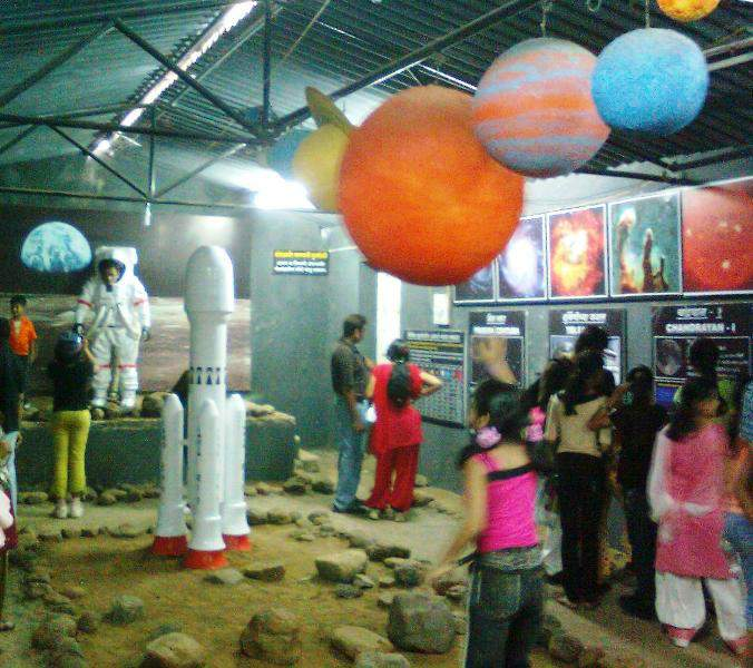 science exibition at morachi chincholi