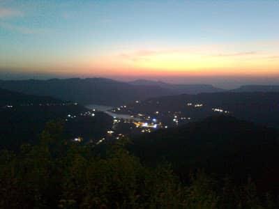 lavasa city night view