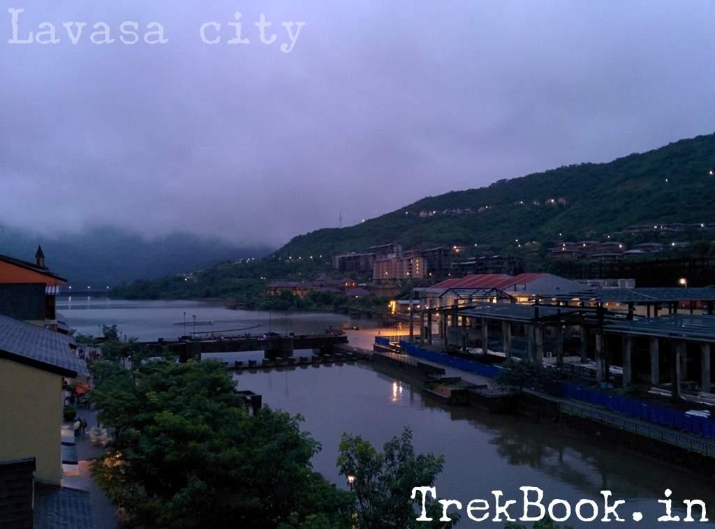 night views of Lavasa city