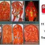 11 Maruti temples [akra maruti] by Saint Shri Swami Samarth Ramdas