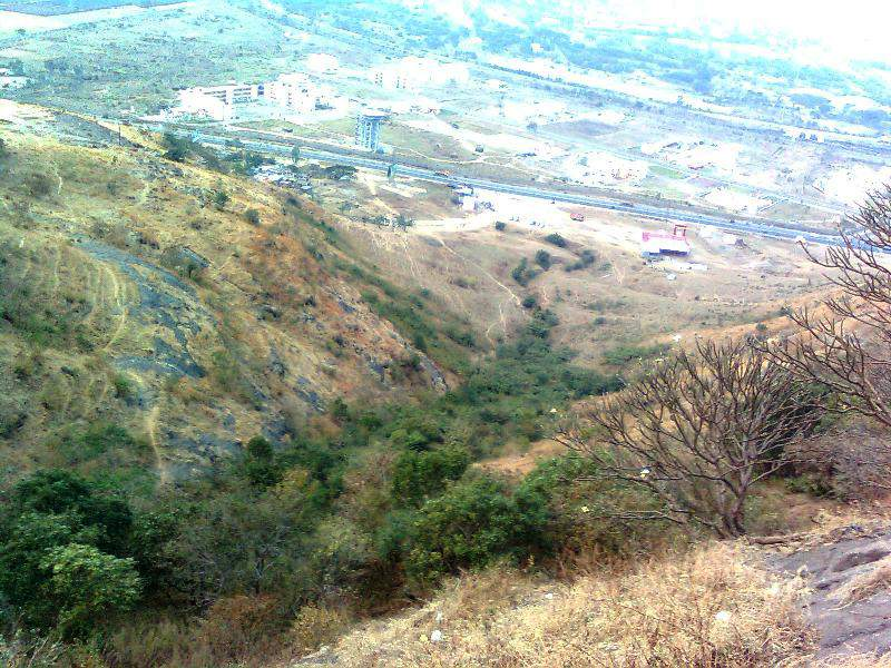 Ghoradeshwar Caves - view from temple top