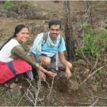 Lohagad trek – Tree plantation by FONA