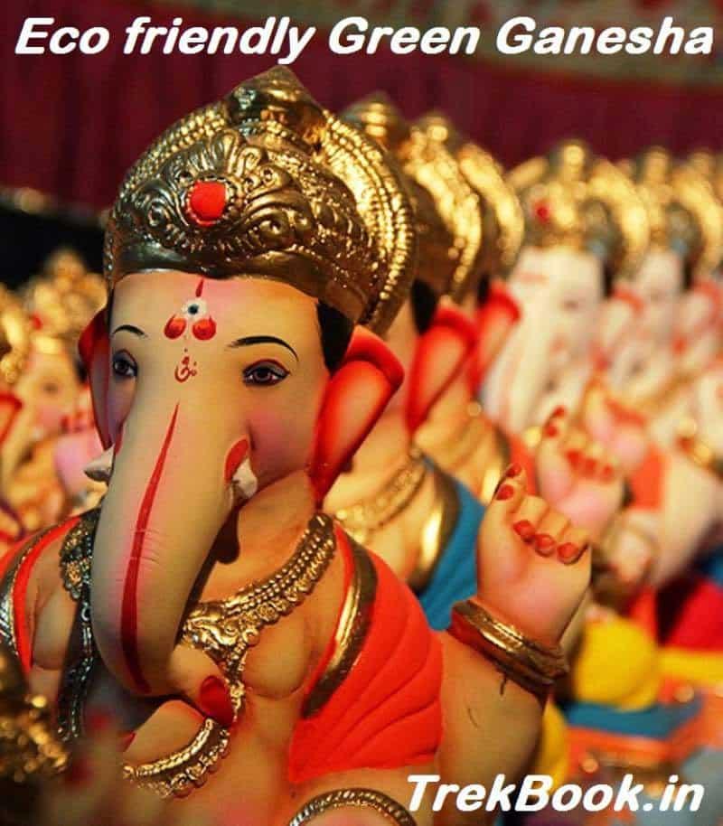My Eco friendly Green Ganesha India