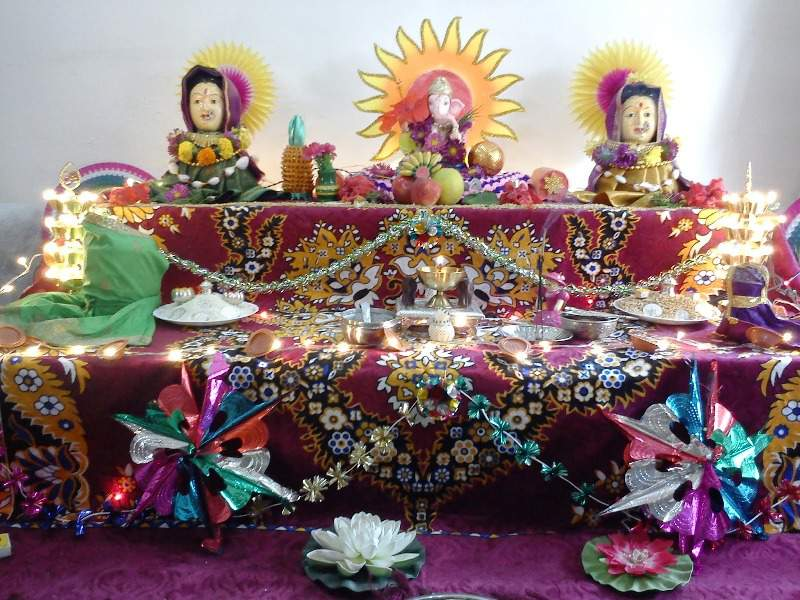 Gauri ganesh festival pune