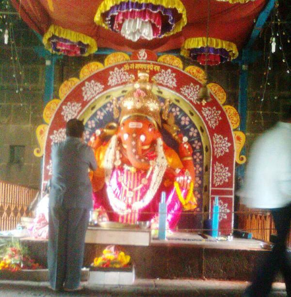 Wai Mahaganpati aka Dholya ganapati