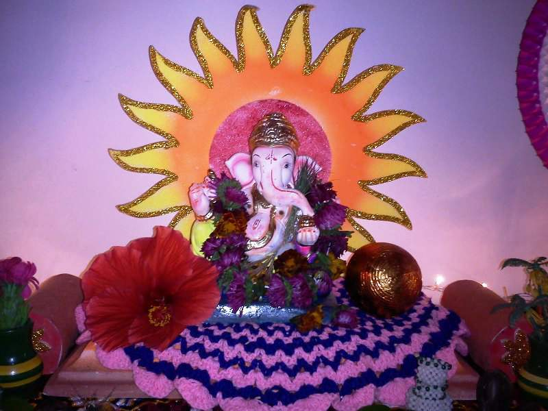 ganesh puja at home