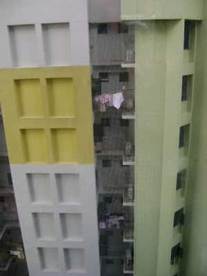 cloths are dried in balcony singapore