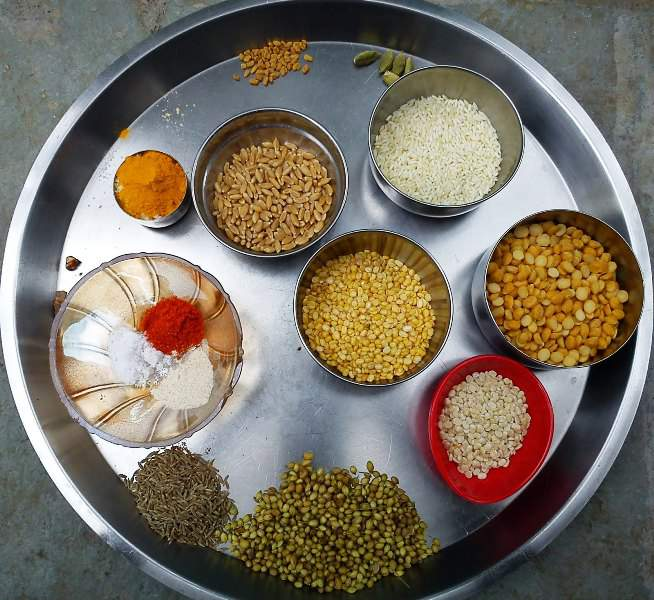 Metkut (मेतकुट)  ingredients