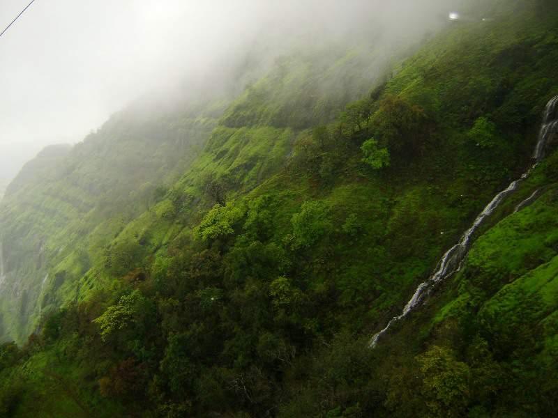 raigad ropeway waterfalls