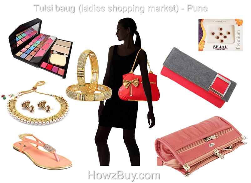 Tulsi baug (ladies shopping market) – Pune