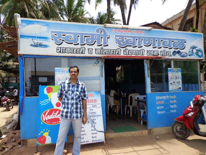 murud beach kokani food hotel