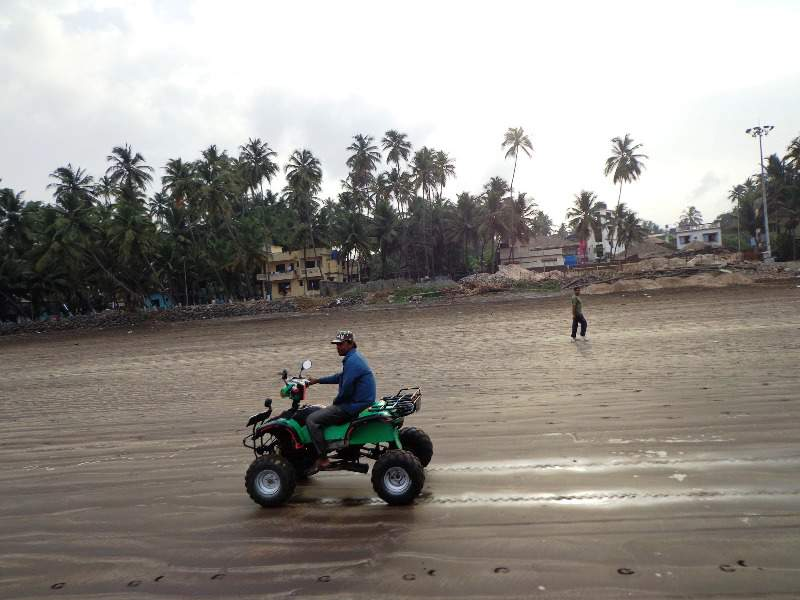 murud beach small 4 wheelers sport
