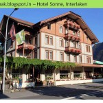Switzerland Hotels where I stayed [Room & Hotel Photos with GPS]