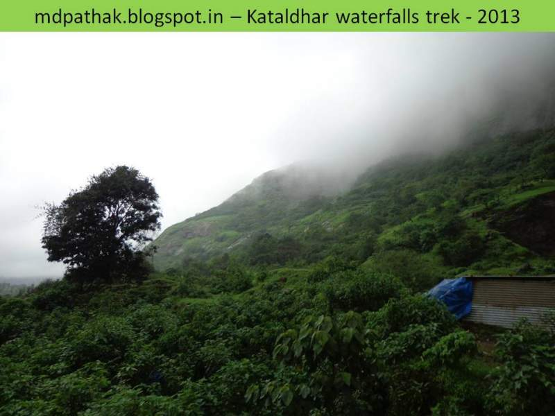 Kataldhar waterfall trek - green