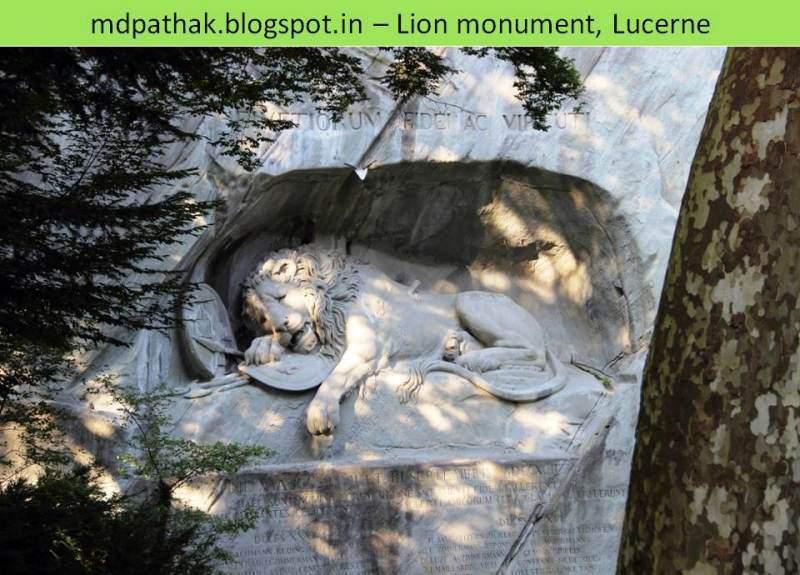 Lion monument lucerne