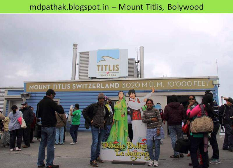 mount titlis bolywood prevails