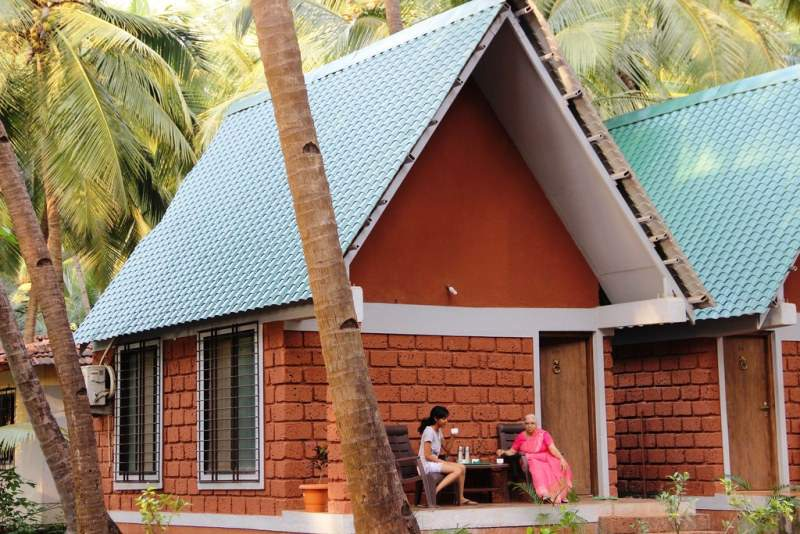 Beach house at ladghar sea resort