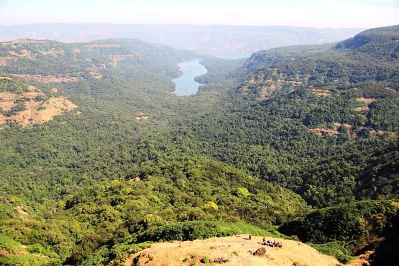 shivsagar lake view vasota