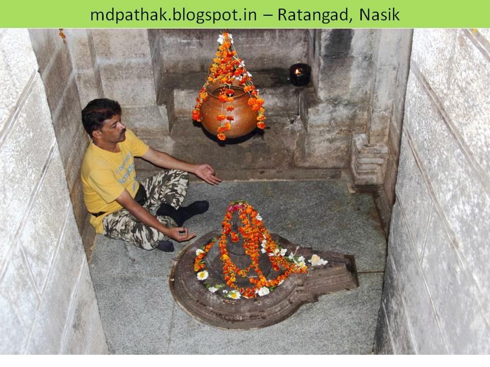 Amruteshwar temple shiv linga