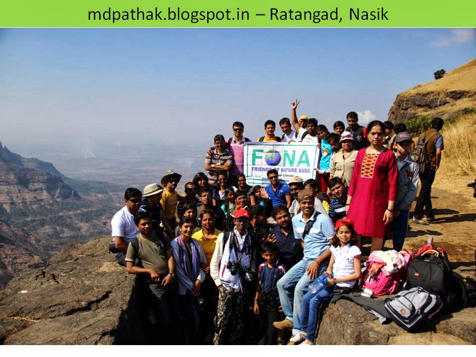 FONA trek to fort ratangad