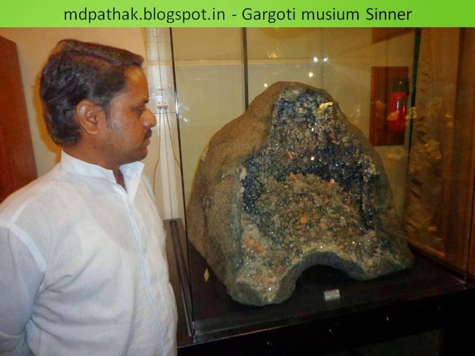 precious stones Gargoti museum, Sinnar
