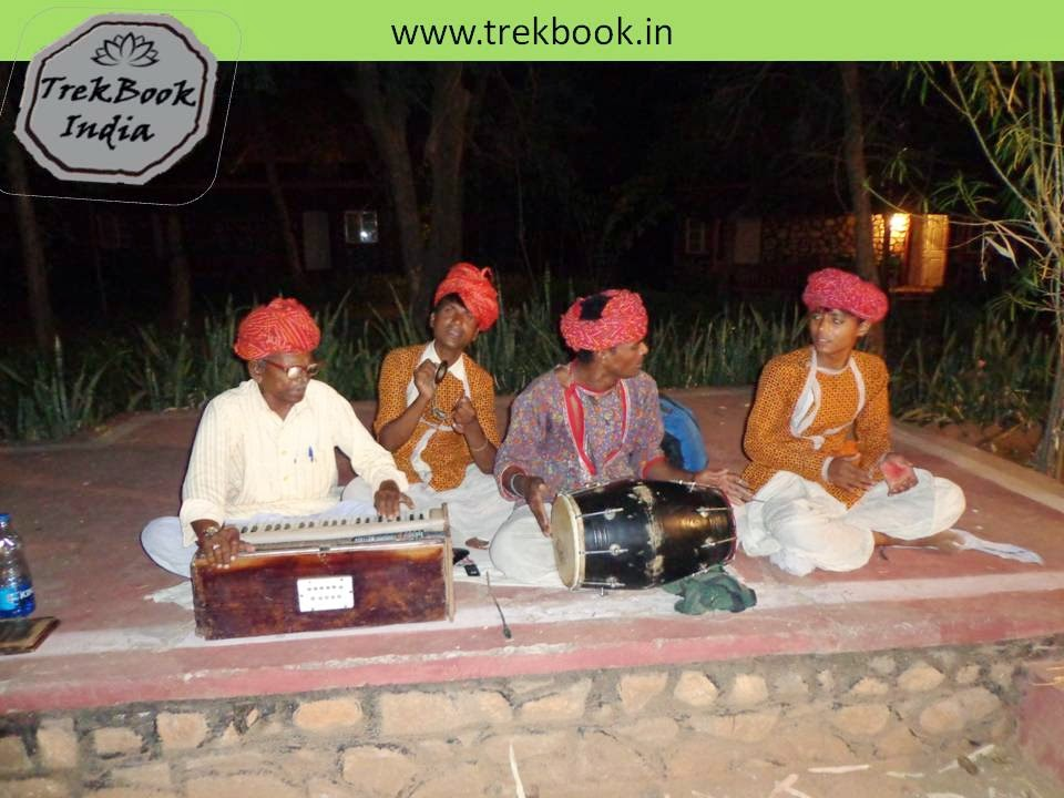 Cultural program with Rajasthani songs