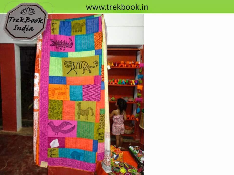 blancket souvenir Ranthambore India price Dollars