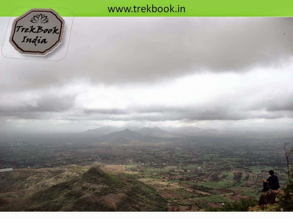 magnificent views from Jarandeshwar temple top