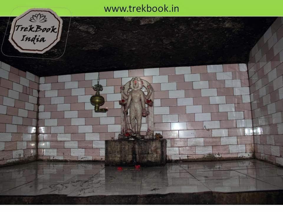 datta temple inside caves of Kalyangad Fort, Nandgiri Village, Satara