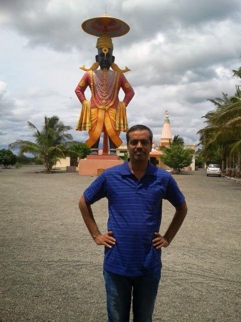Tallest idol Pandharpur