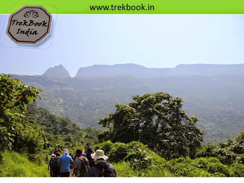on the way to prabalgad fort trek
