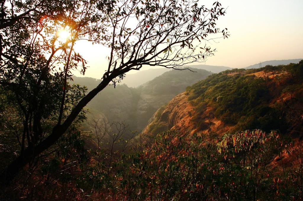 sunset plus valley tamhini ghat