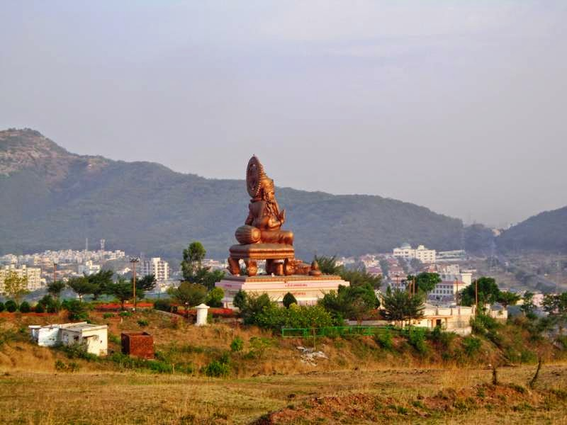 birla ganpati view from distance