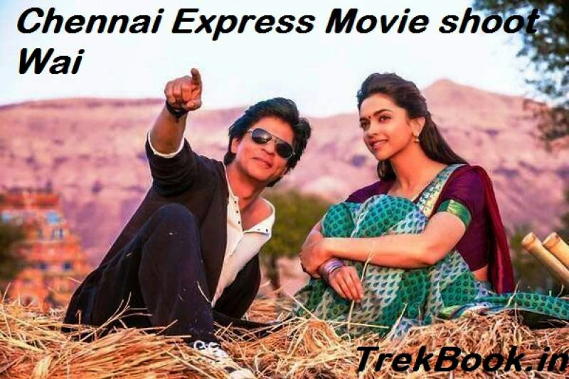 Chennai Express movie shoot wai