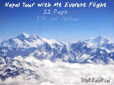 Nepal + Mt Everest Flight 12 days tour