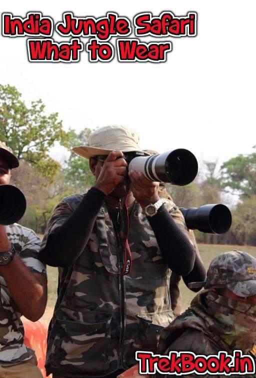 jungle safari wear india guide