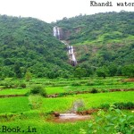 3 tiered waterfall near pune lonavala kanhe phata