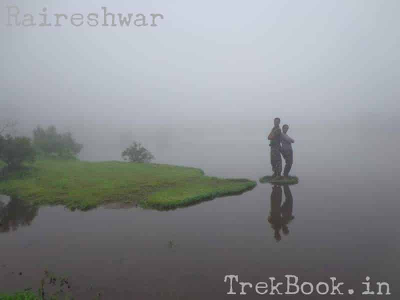 Lake Raireshwar reflections with my love
