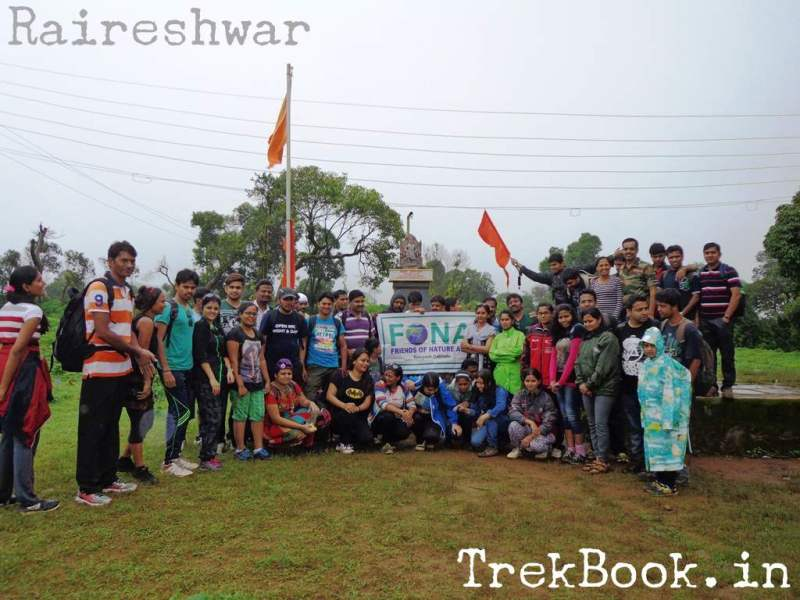 Raireshwar Trek FONA group photo