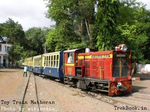 Neral To Matheran Toy Train