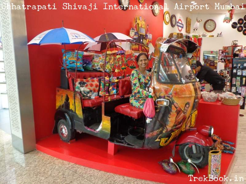 Mumbai international airport photo stop
