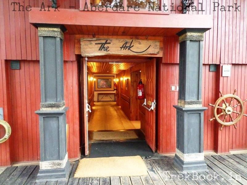 The Ark Hotel Entrance