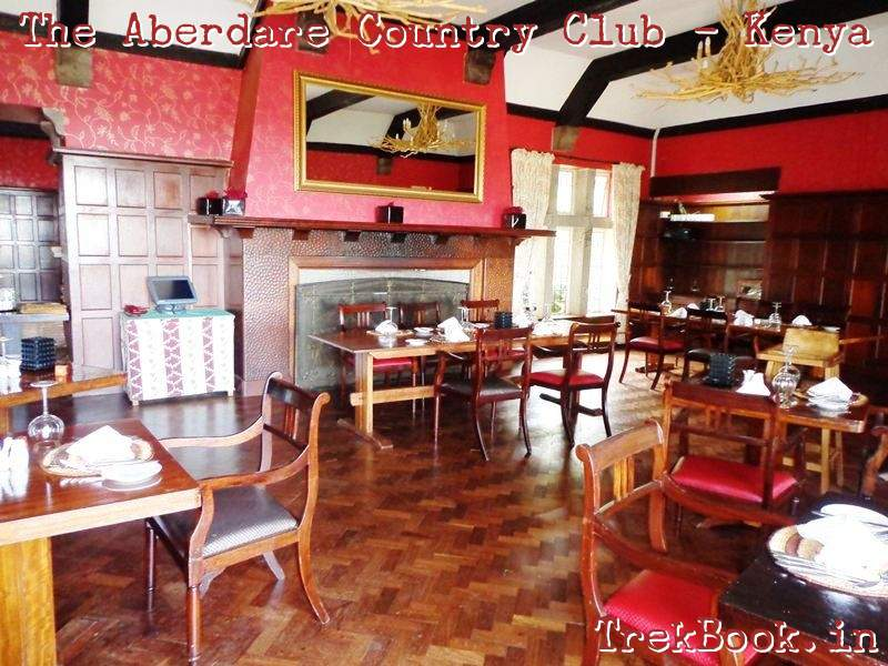 the aberdare country club dining interior
