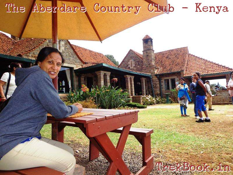 the aberdare country club garden lunch