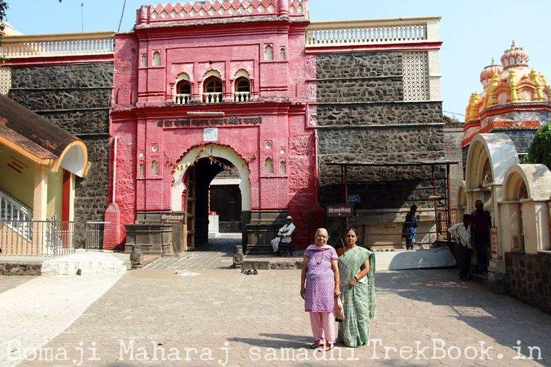 Gomaji Maharaj samadhi front