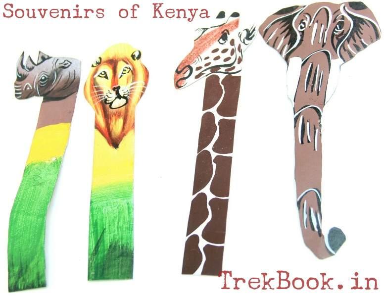 nairobi souvenirs book marks
