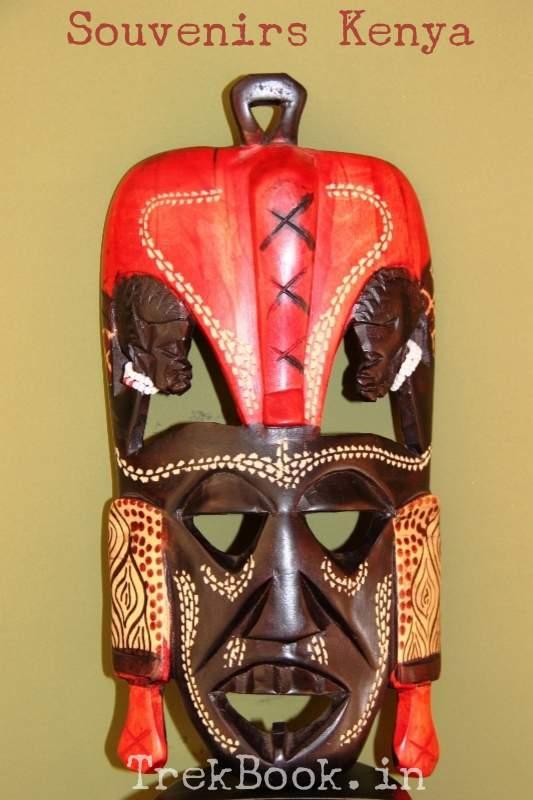 traditional kenyan gifts masai tribal mask