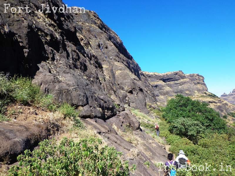 fort jivdhan climbing