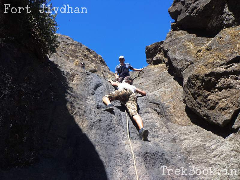 rock climbing fort jivdhan